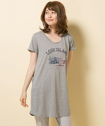 LONGISLANDロングTシャツ