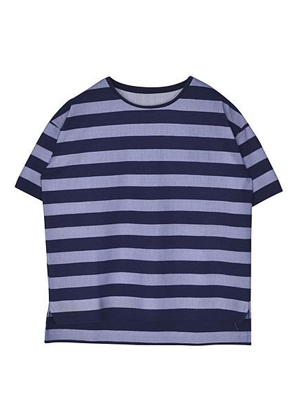W MESH BORDER Tシャツ