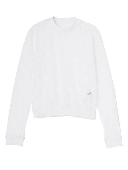 FITレースロングTシャツ