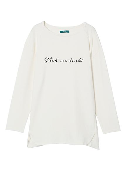 【green】ロゴロングTシャツ