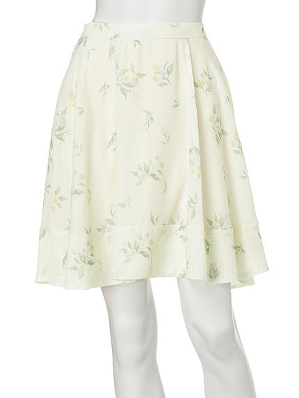 【DUO】 Little Flowerフレアスカート
