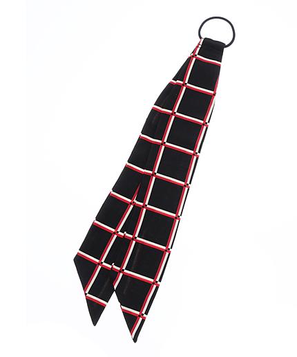 スカーフへアゴム