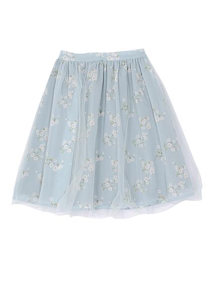 【DUO】 フィオラフラワースカート