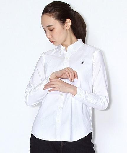 GYMPHLEX(ジムフレックス)オックスボタンダウンシャツ