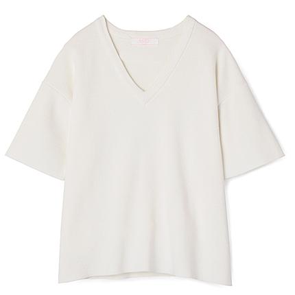ミラノリブニットTシャツ
