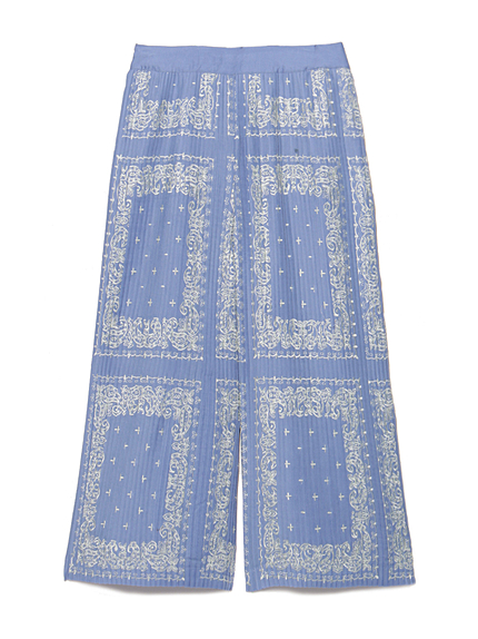 バンダナ刺繍パンツ