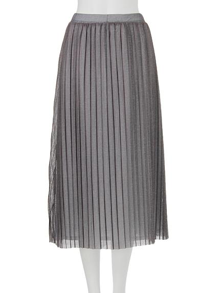 【FEMININE】MIXチュールレイヤードスカート
