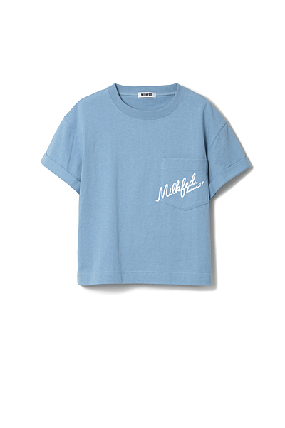 LOGO ROLL UP S/S TEE