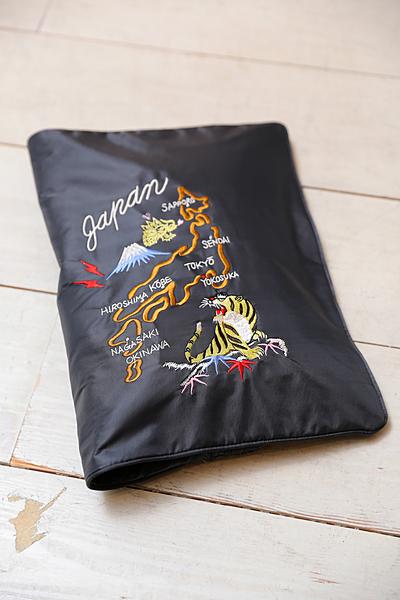 スカジャン刺繍クラッチⅡ