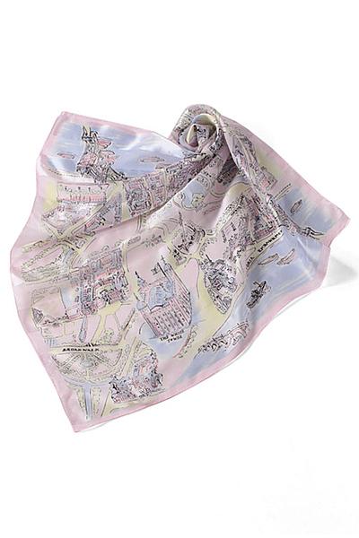 地図柄スカーフ