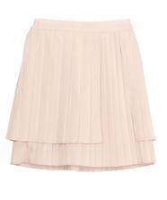 サテンミニプリーツスカート