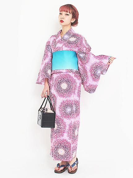 【ORIGINAL浴衣】花火菊