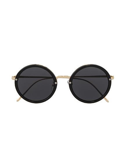 ゴールドテンプルサークルサングラス