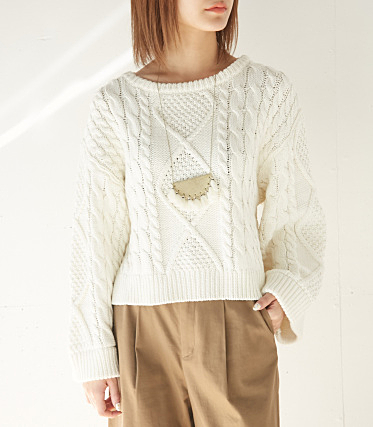 CAGE WIDE SLEEVE LG TOPS