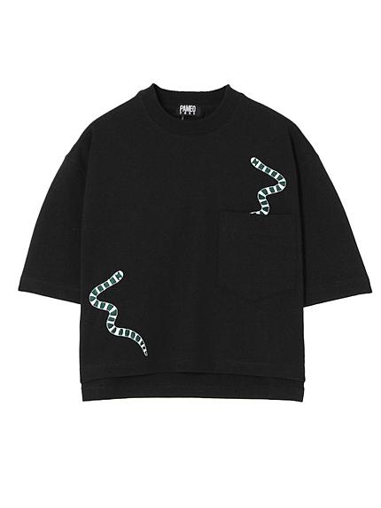 【表参道店オリジナル】SEA SNAKE EMBROIDERED T-SHIRT