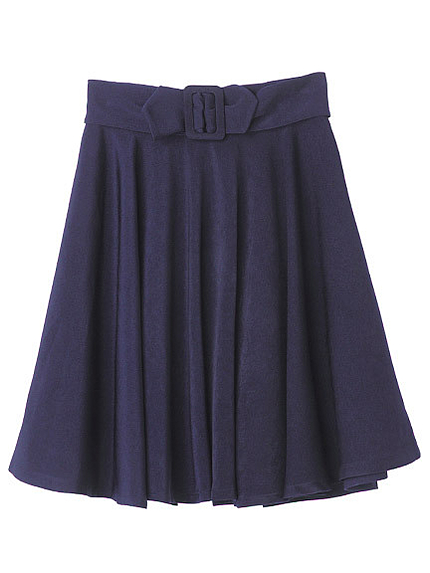 【CECIL BOOK掲載】リボンベルトスカート