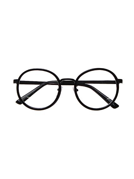 Ungrid【Casual】ラウンドだてメガネ