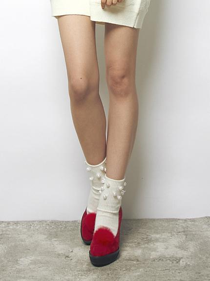 パール靴下