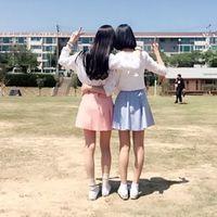 幼すぎ卒業。20代に勧める韓国人から学ぶ大人双子コーデのポイント4つ