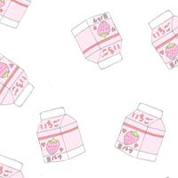 やっぱりいちごみるくがスキ。甘くてかわいい淡いピンクネイル♡