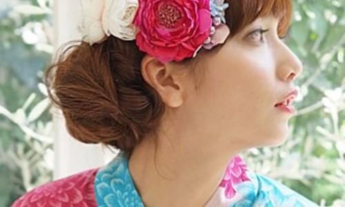 2015年夏も視線はイタダキ♡編みこみで作るかわいい浴衣ヘアアレンジ