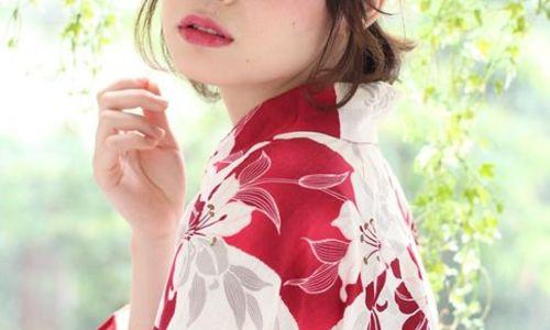 この夏目指すは振り返られ美人♡前髪の長さ別浴衣ヘアアレンジ集
