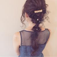 ドレスは決まった、髪はどうする?聖夜を彩るクリスマスヘアアレンジ15