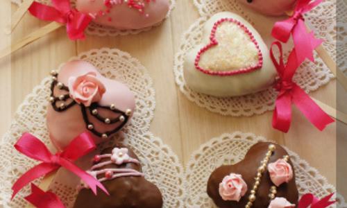 ラブリーなバレンタインチョコの作り方を紹介!ピンクスイーツのレシピ集!