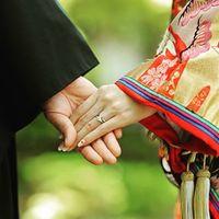 彼と手を繋いで歩くから♡着物デートにぴったりな和装ネイルデザイン