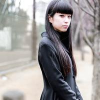 MERY SNAP 自分の個性は、服で表す。フリーモデル錦戸彩花のブラックコーデ