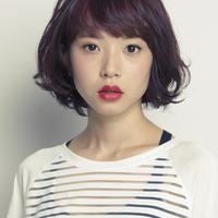 女性の魅力が引き立つ♡パープルカラーのヘアカタログ