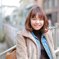 MERY SNAP 愛されるヒミツは、とびきり笑顔♡福地夏未のカジュアルコーデ