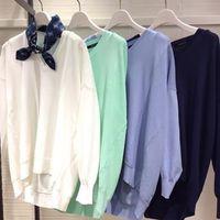 春夏も着たい。薄めセーターでニュアンススタイルをめざそう♡