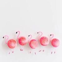 ふんわりパステルカラーで叶える♡春の指先から楽しむ、フラミンゴネイル