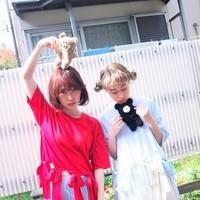 """merry jenny推しの1枚♡""""フリンジリボンTシャツ""""で作る色違いcode"""