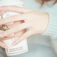 透明感抜群の、大人レディな指先♡シアーピンクで叶える、春ネイル