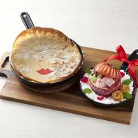 1日50食限定のキュートなパンケーキ。「パンネクック白雪姫」がMIZUcafeに登場!