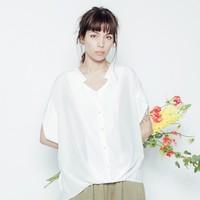 [2016夏]ゆるっとオーバーサイズシャツで、抜け感溢れるレディスタイルを♡
