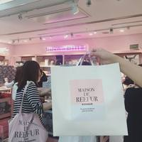 [〜5月30日]限定アイテムも!MAISON DE REEFURのショップが新宿に出店中♡