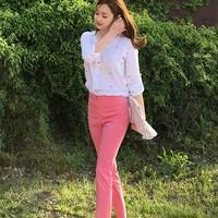 華やかコーデに魅了されて♡韓国のすっきり春夏おしゃれコーデ術