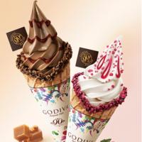 アートのように彩り豊か。90周年のゴディバから期間限定チョコ&ソフトクリーム登場