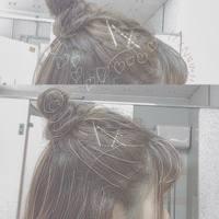 〝簡単×定番=可愛い〟の方程式を解け♡ハーフアップお団子×デニムスタイル