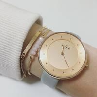 上品、シンプル、低価格。デンマーク生まれ「SKAGEN」の時計が大人カワイイって噂♡