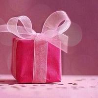 リボンでプレゼントをもっと可愛くする魔法をかけましょう*
