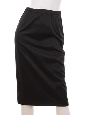 サテンストレッチタイトスカート