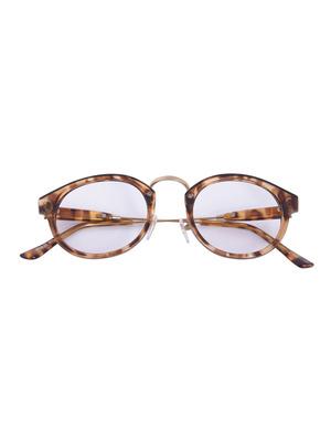 メタルノーズフレームメガネ