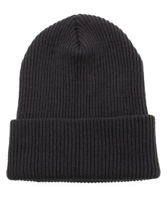 細リブニット帽