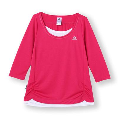 adidas/7分丈Tシャツ