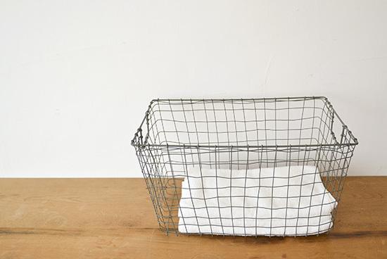fog linen work/フォグリネン/カゴ/スタンダードバスケット