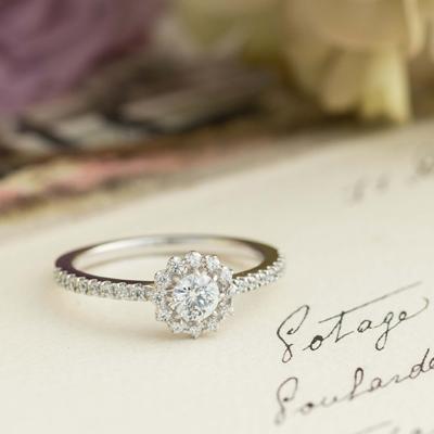 [婚約指輪] Girasole ジラソーレ